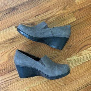 Dansko   Clog Wedges   Charcoal Gray   Size 39